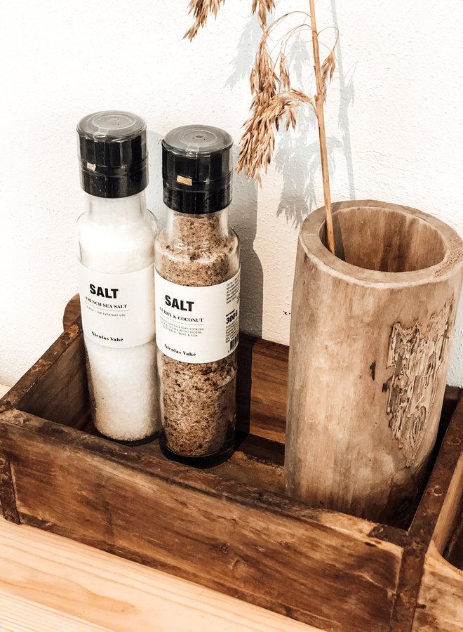 Salt Curry & Coconut