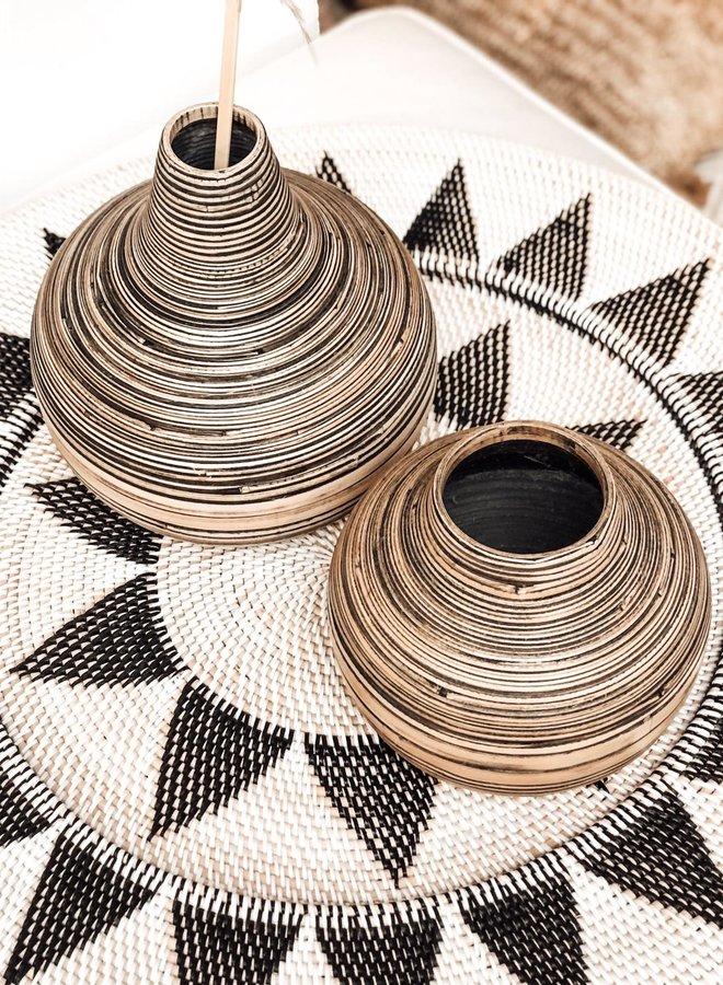 Vaas Bamboe Laag