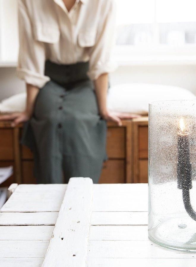Kaarshouder in Glas