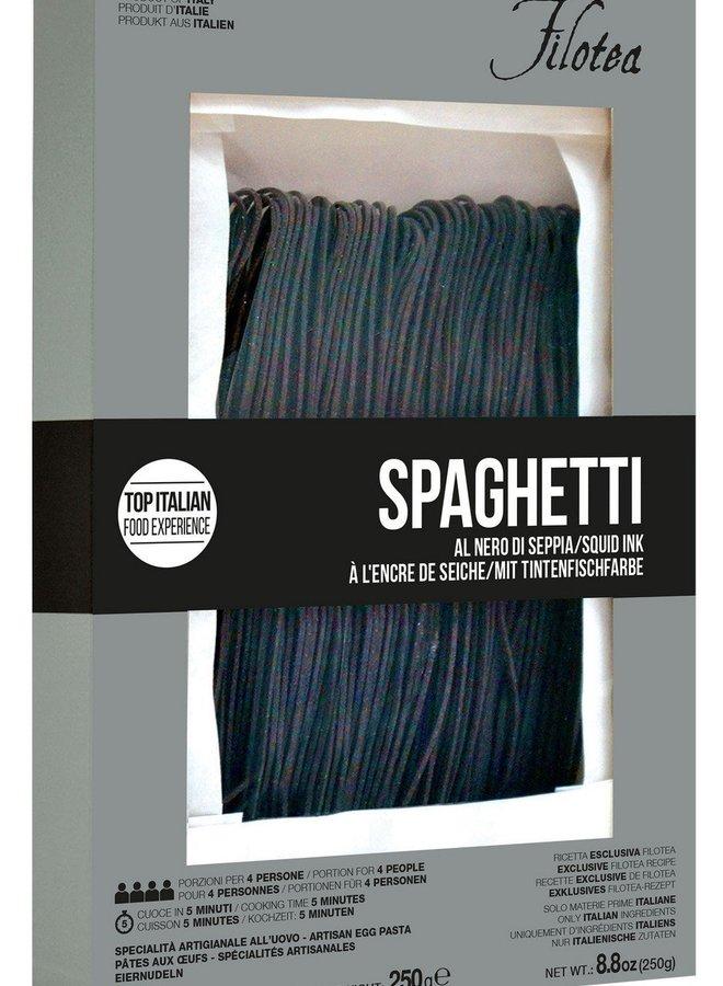 Filotea Zwarte Spaghetti Al Nero di Seppia