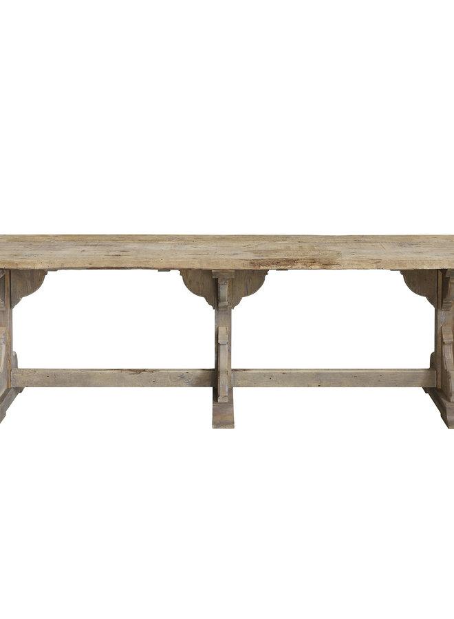 Eettafel Recycled Wood 245x75
