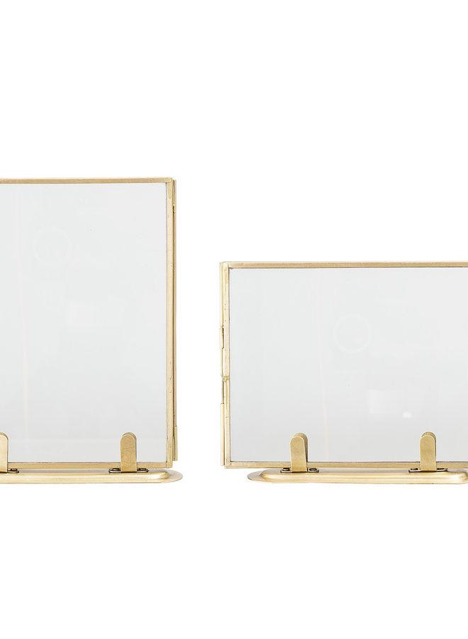 Fotolijst op Voet Brass 14x18 cm