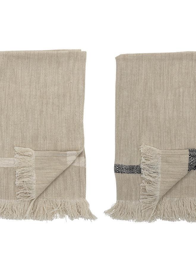 Theedoeken set van 2 Cotton 70x45 cm