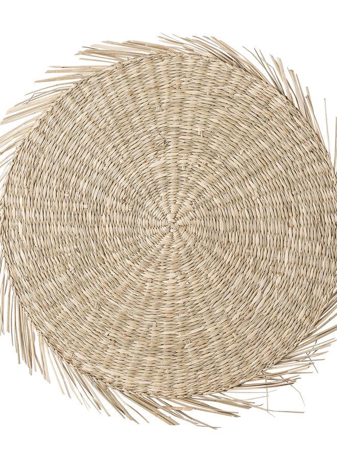 Wandschaal | Placemat Zeegras 38 cm