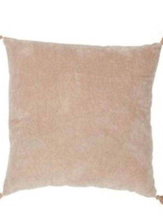 Kussen Kwast Katoen Skin 45x45 cm