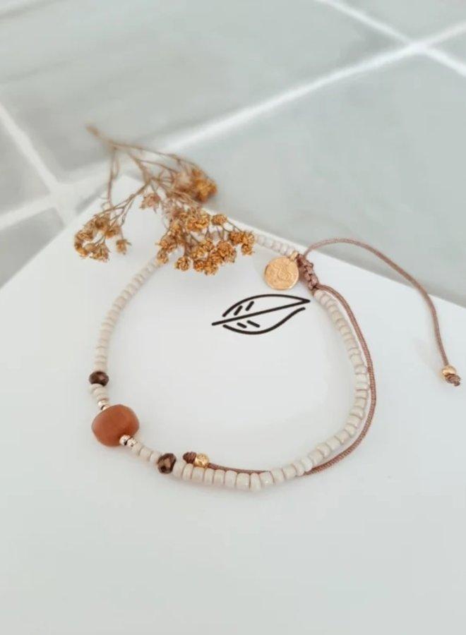 Verstelbaar Handgemaakt Armbandje - Beads