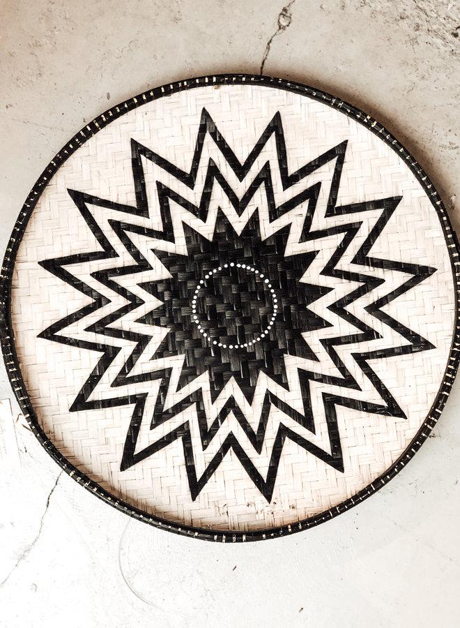 Wandschaal Zwart Wit Tampah M