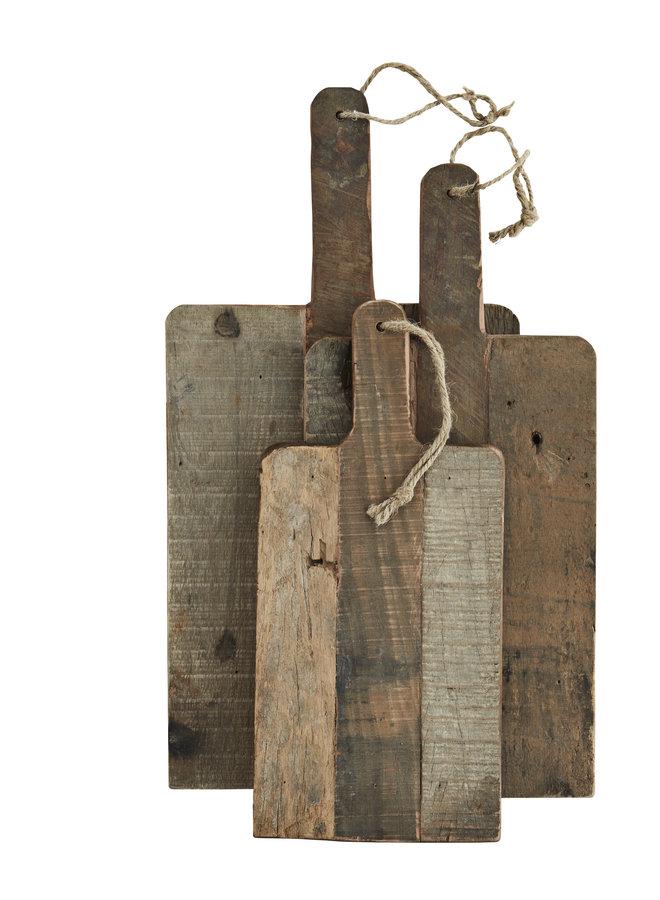 Serveerplank Vintage Hout Rechthoek 38x17