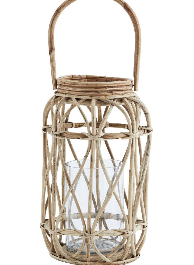 Windlicht Bamboo 20x35 cm