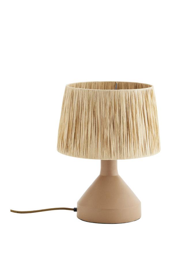 Tafellamp Raffia 30x39 cm