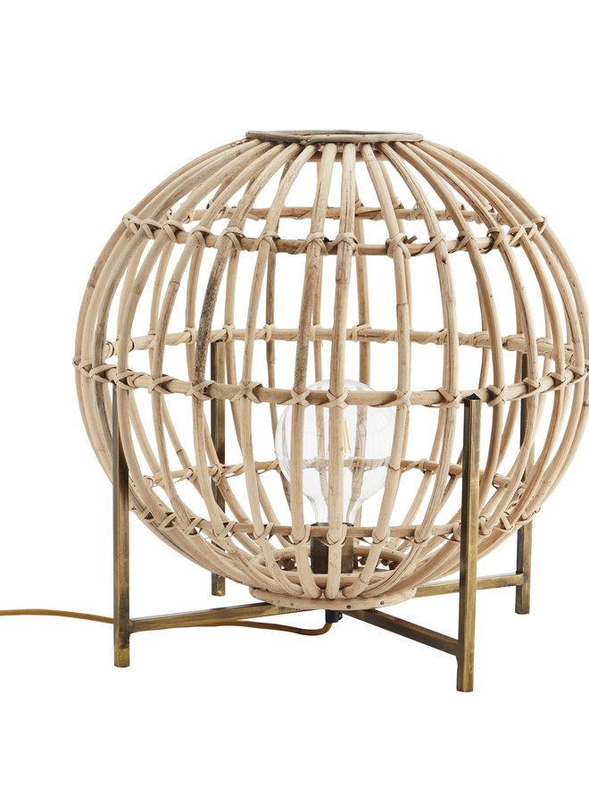 Tafellamp Bamboo 55x55 cm