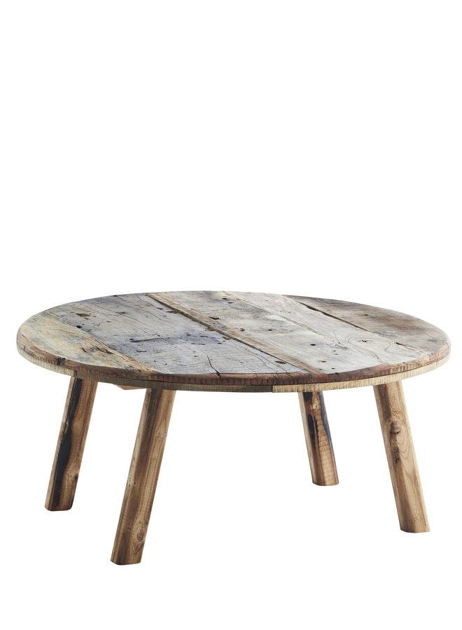 Bijzettafel Recycled Wood 90x40 cm