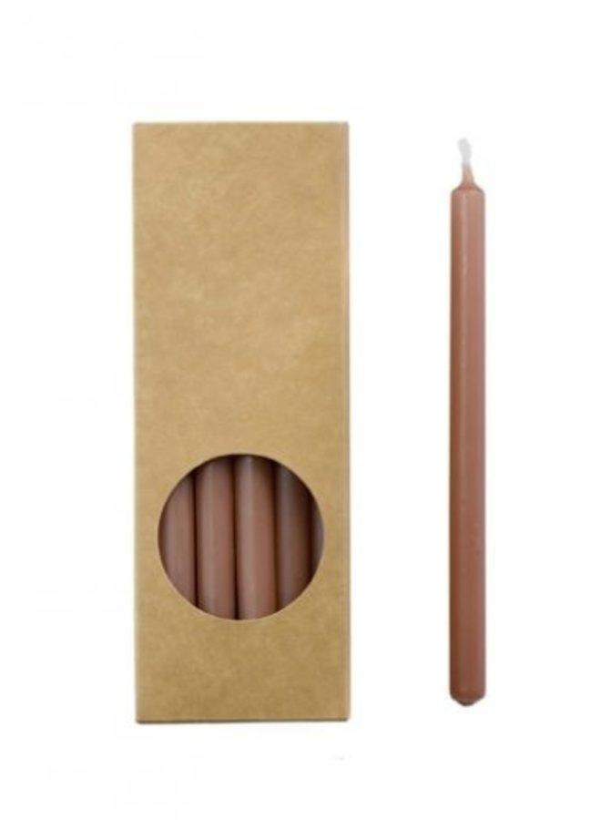 Pakje Potloodkaarsen Brique 20 stuks 17,5 cm