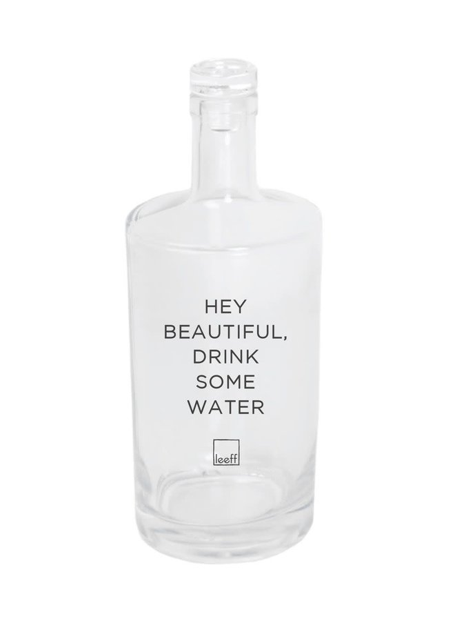 Waterbottle 'Hey Beautiful'