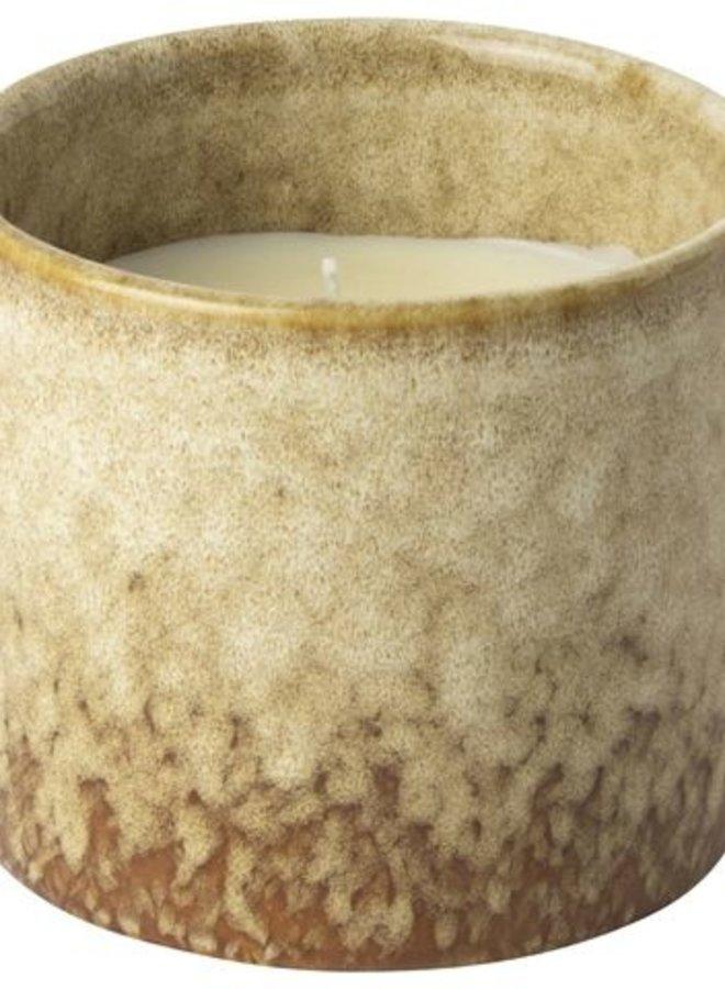 Kaars in Keramieken Pot 14 cm