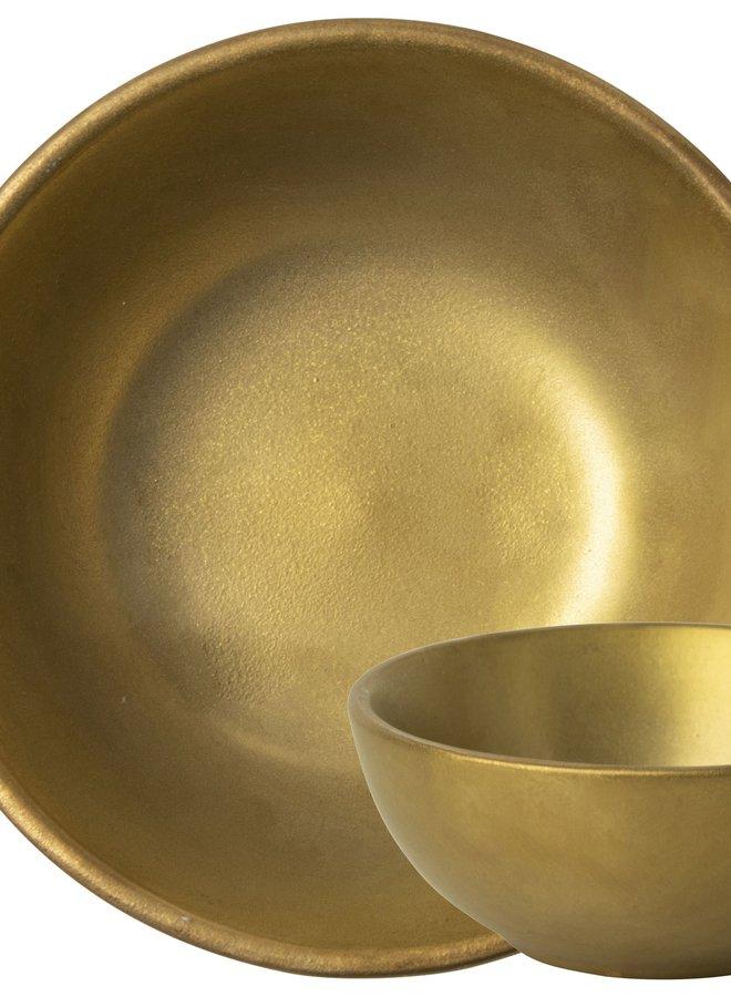 Schaaltje Goud 9 cm