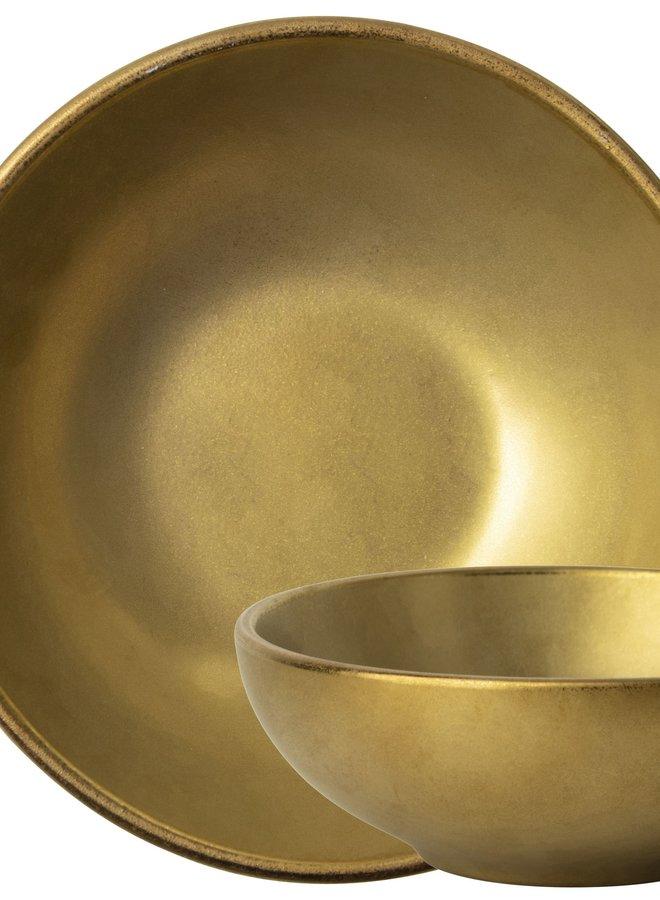 Schaaltje Goud 12 cm