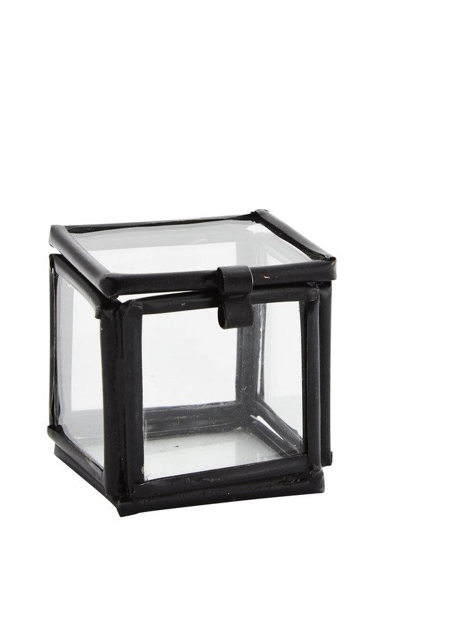 Glassbox Mini 3,5 cm Zwart