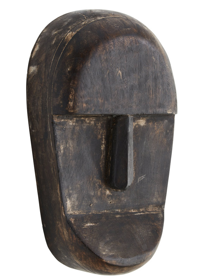 Houten Masker 23 cm
