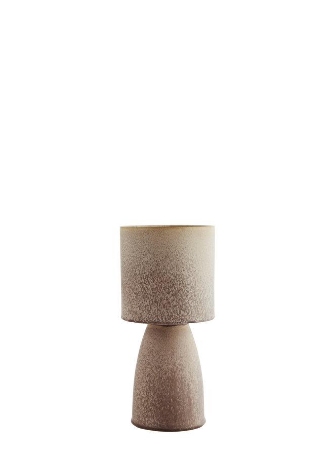 Pot | Vaas Keramiek Poederroze Bruin 29 cm