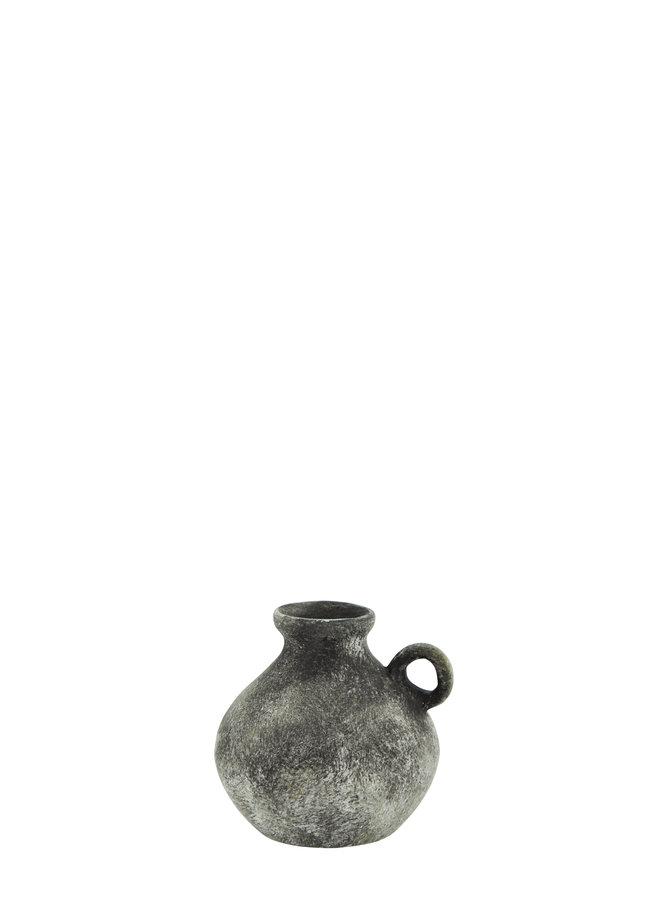 Vaasje Stoneware 9,5 cm Grey