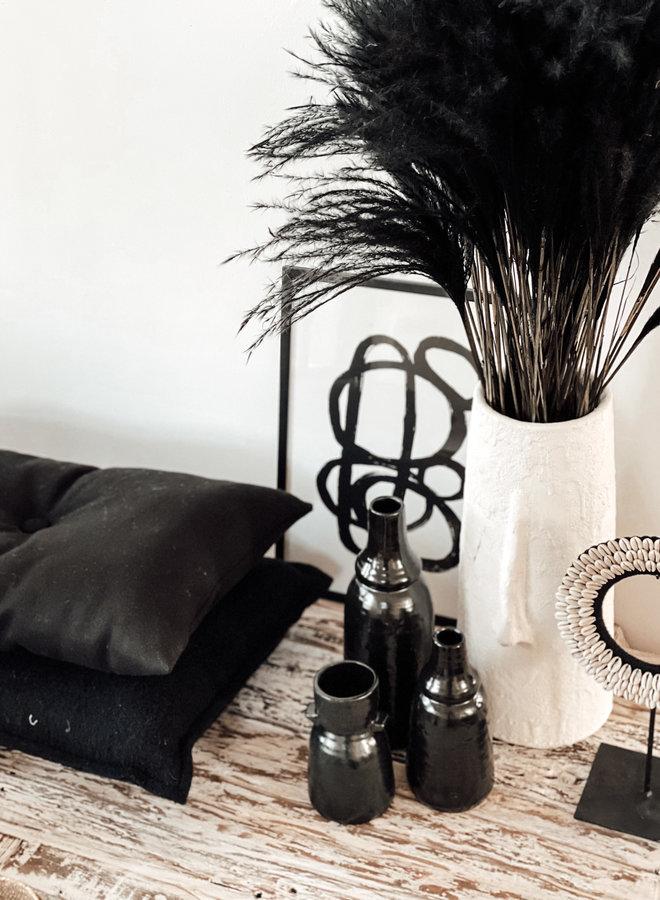 Stipa Feather Zwart - per takje - 65 cm