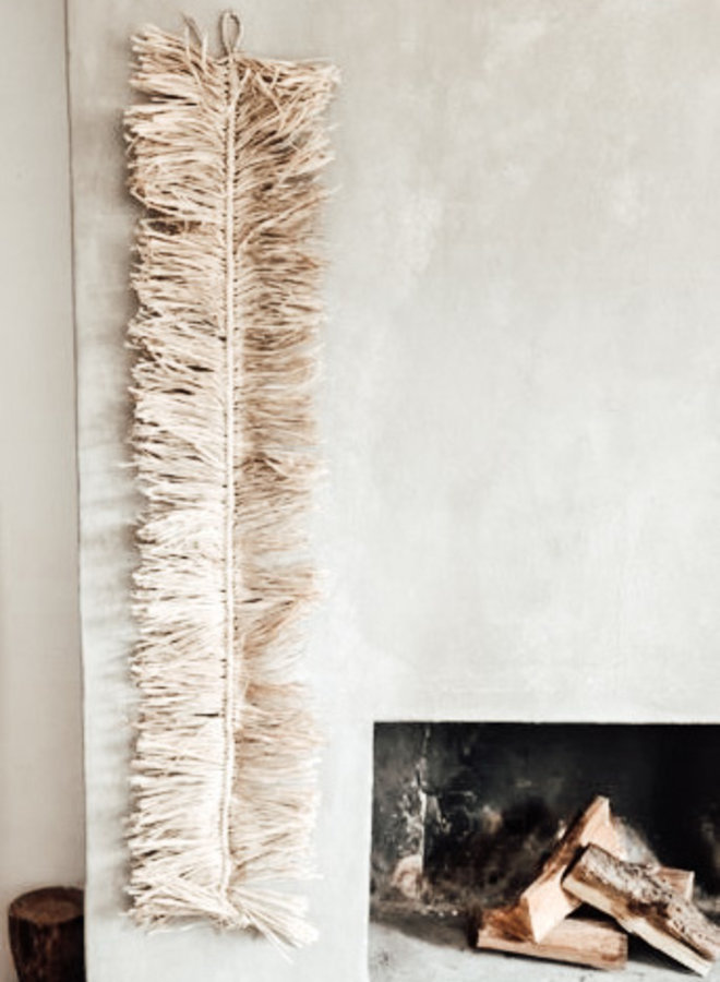 Visgraad Raffia Hanger 150 cm