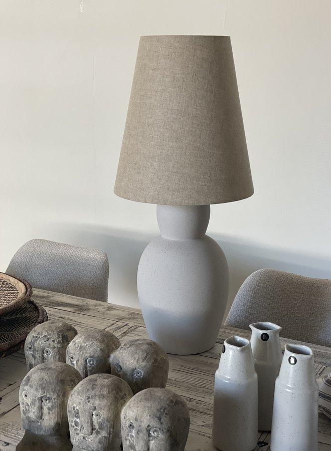 Tafellamp incl. Kap  Sand