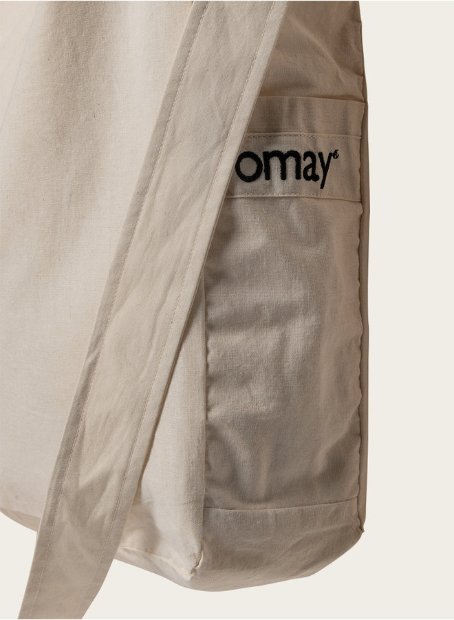 Omay Mommy Bag Raw Cotton