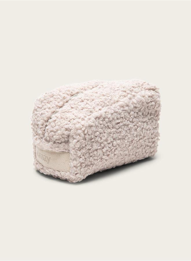 Omay Pouch  Creamy Bouclé