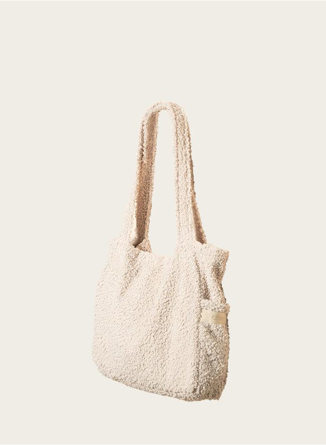 Omay Classic Bag  Creamy Bouclé