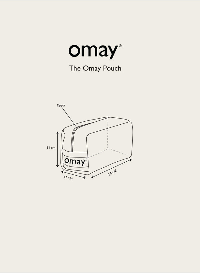 Omay Pouch Teddy