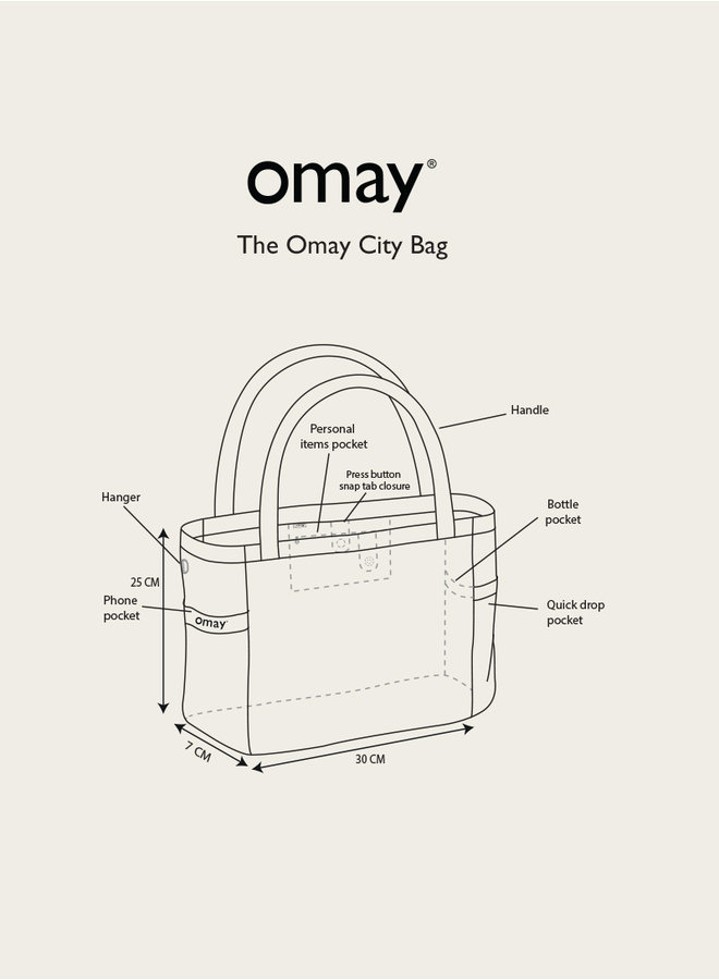 Omay City Bag Forest Dawn