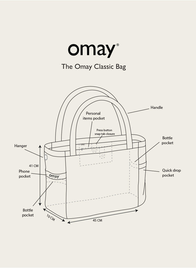Omay Classic Bag Leopard