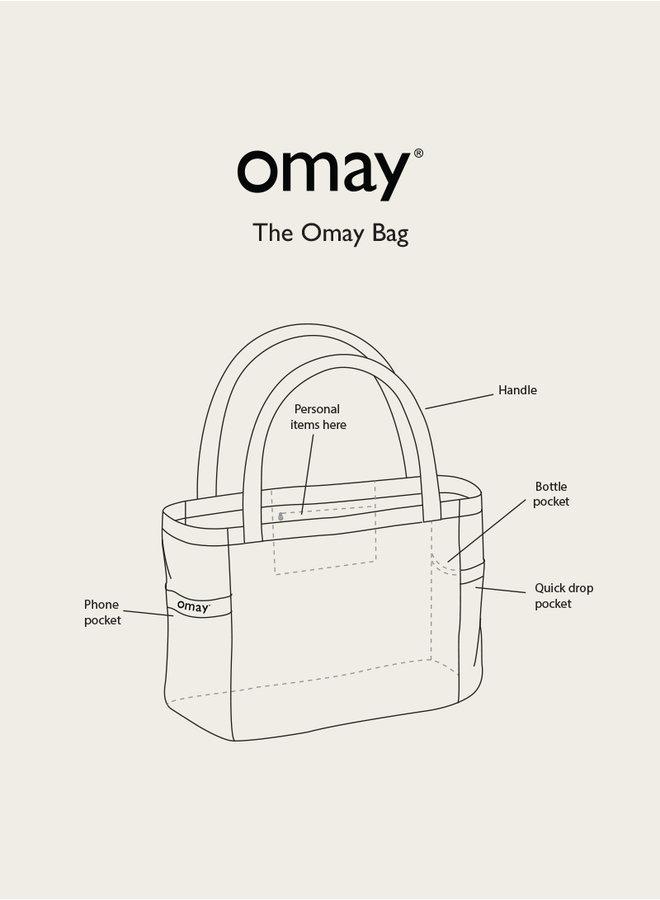 Omay Beach Bag Ibiza Circles