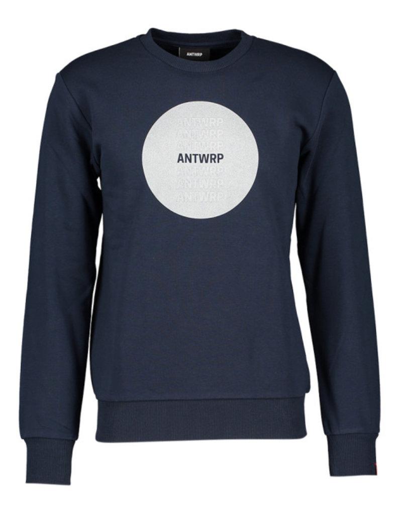 Antwrp ANTWRP blauwe trui/zilver