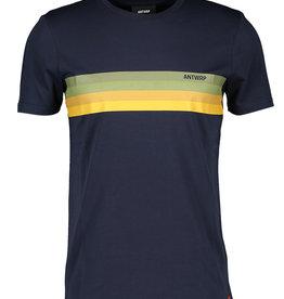 Antwrp T-shirt met horizontale strepen