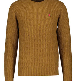 Antwrp Dark maple trui met afwerking aan pols