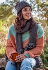 Isla Ibiza Sjaal bruin
