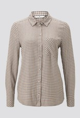 Tom Tailor CHECKED BLOUSE WITH TURN-UPS