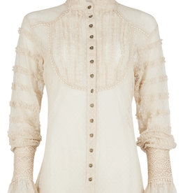 Isla Ibiza Lace Blouse Ruffled