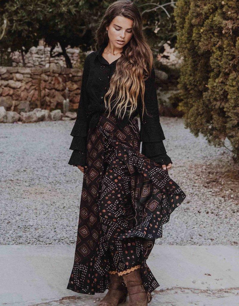 Isla Ibiza Skirt whith Pants Mixes Aztek Print