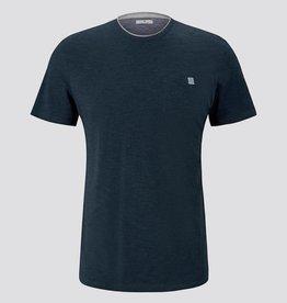 Tom Tailor Fijn gestreept T-shirt met borstzak
