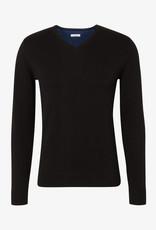 Tom Tailor Eenvoudige gebreide trui (zwart)