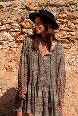 Isla Ibiza Boho Tunic Mixed Floral Printed