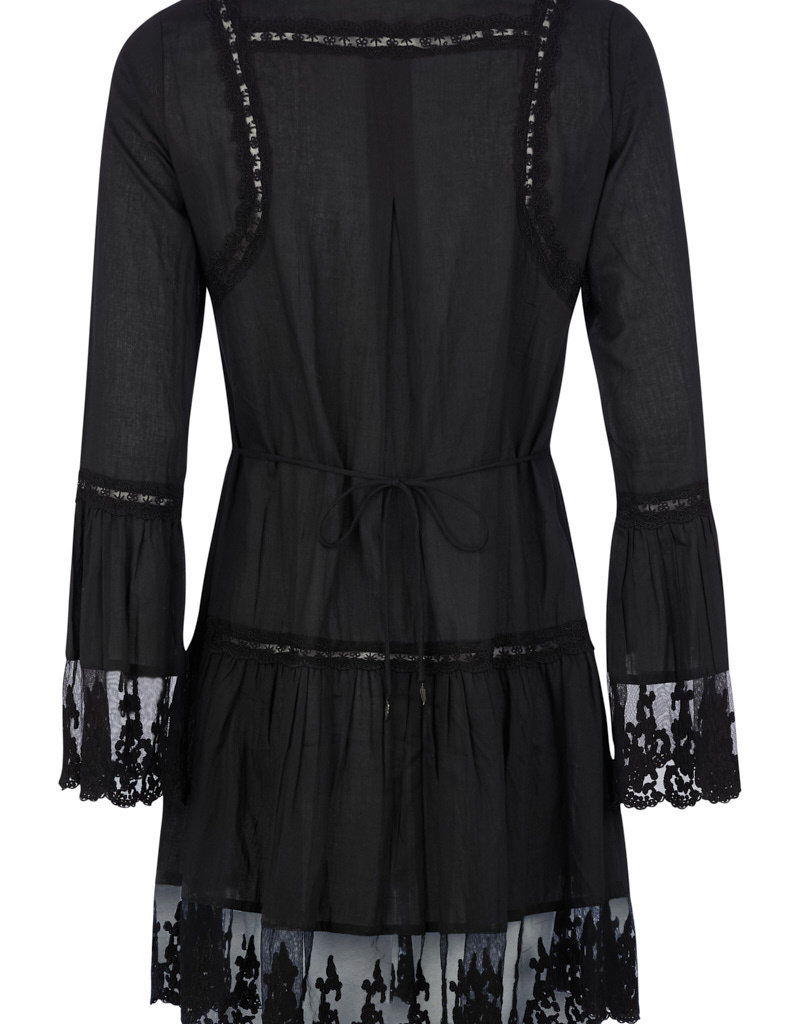 Isla Ibiza Short Dress Transparent Lace