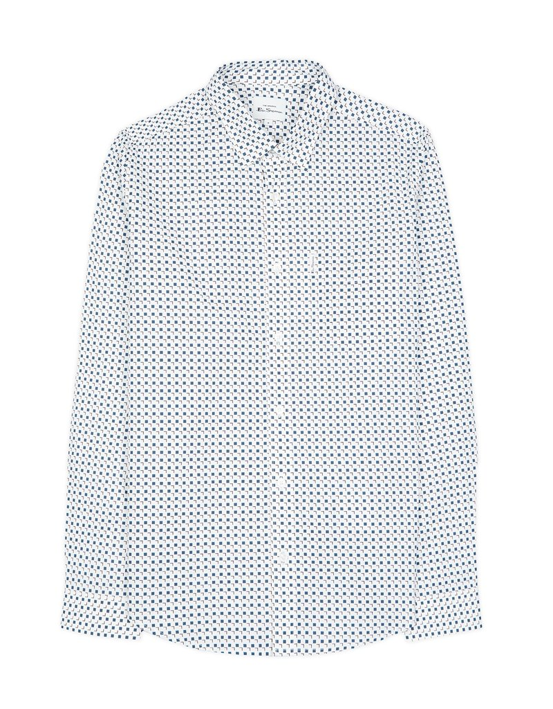 Ben Sherman Scattered Square Print