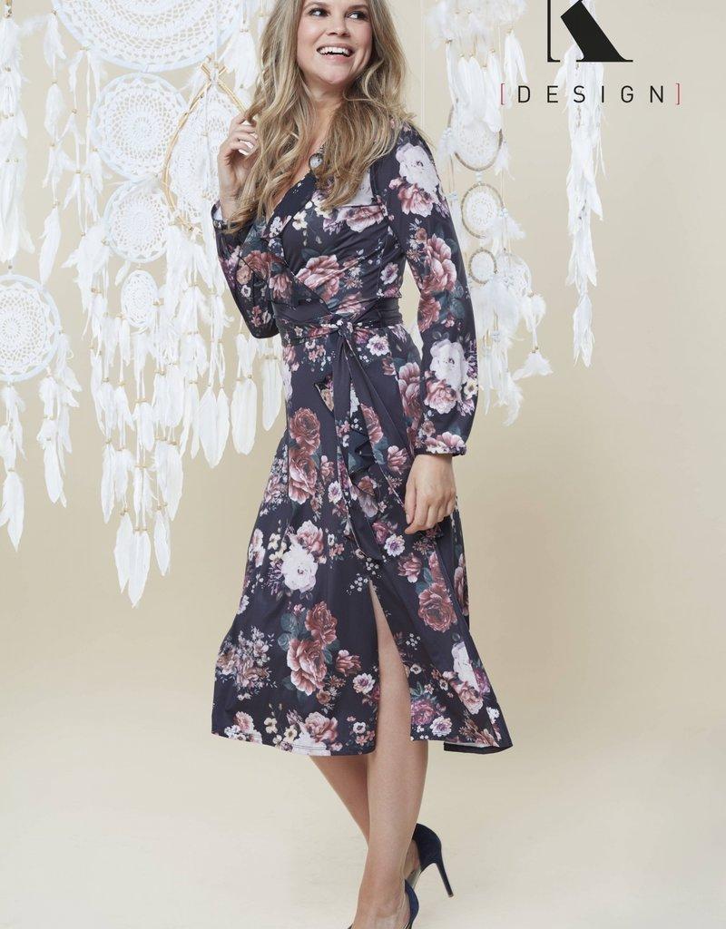 K-design kleedje met v-hals