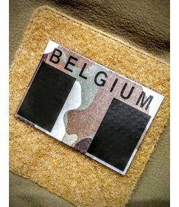 Contact Front IR Belgium flag patch