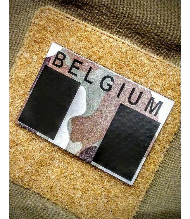 Contact Front IR Belgium flag patch